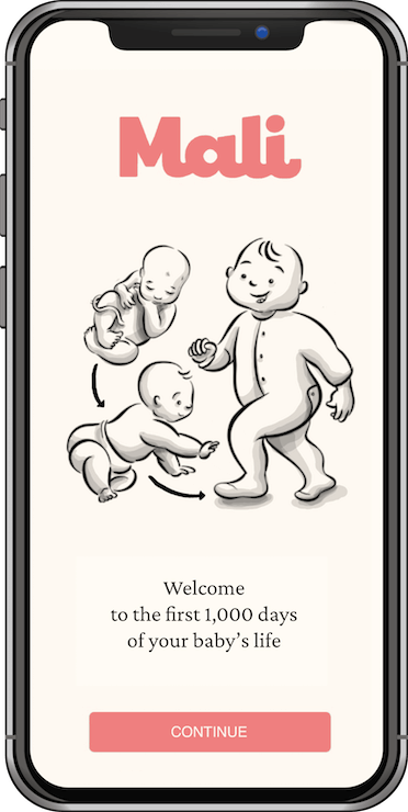 Mali app, welcome to the first 1,000 days of your baby's life