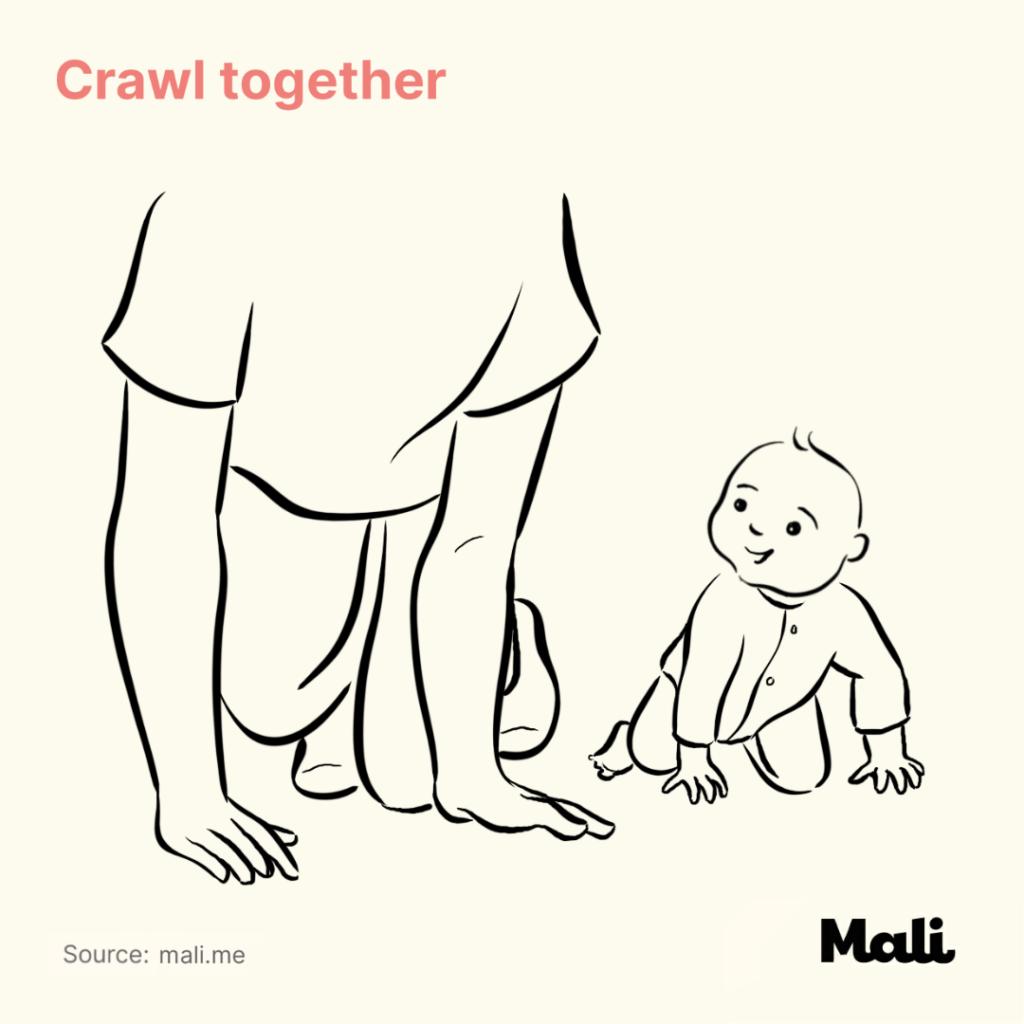 Crawl together Five Ways to Encourage Crawling by Mali