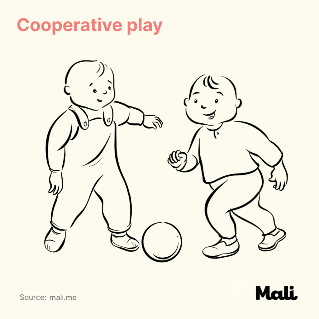 5 Critical stages of play early childhood cooperative play by Mali