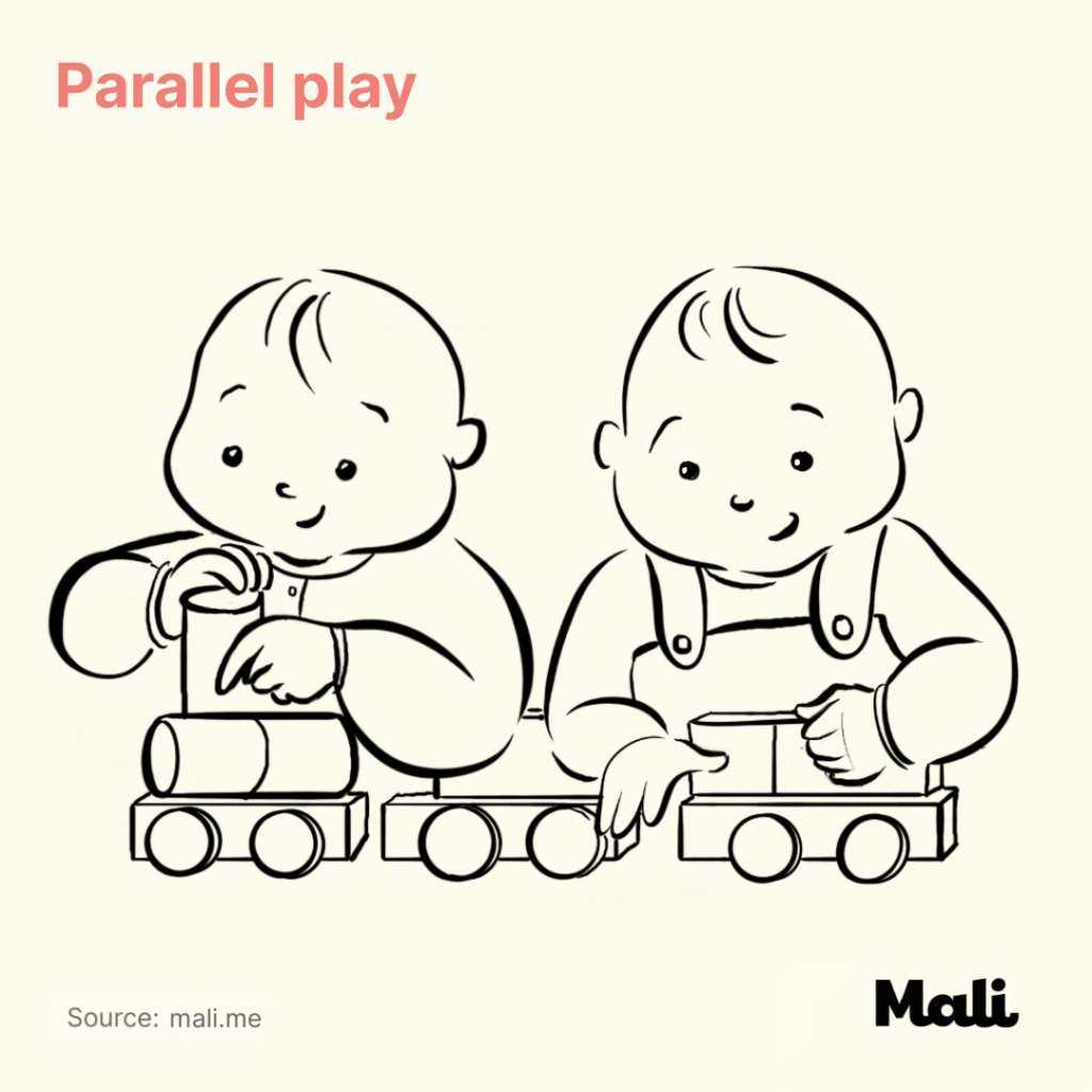 5 Critical stages of play early childhood parallel play by Mali