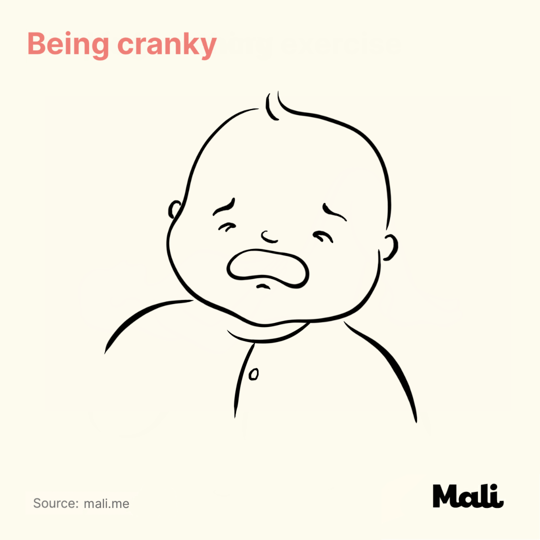 Being cranky_6 ways to determine whether your baby is sick or teething? by Mali