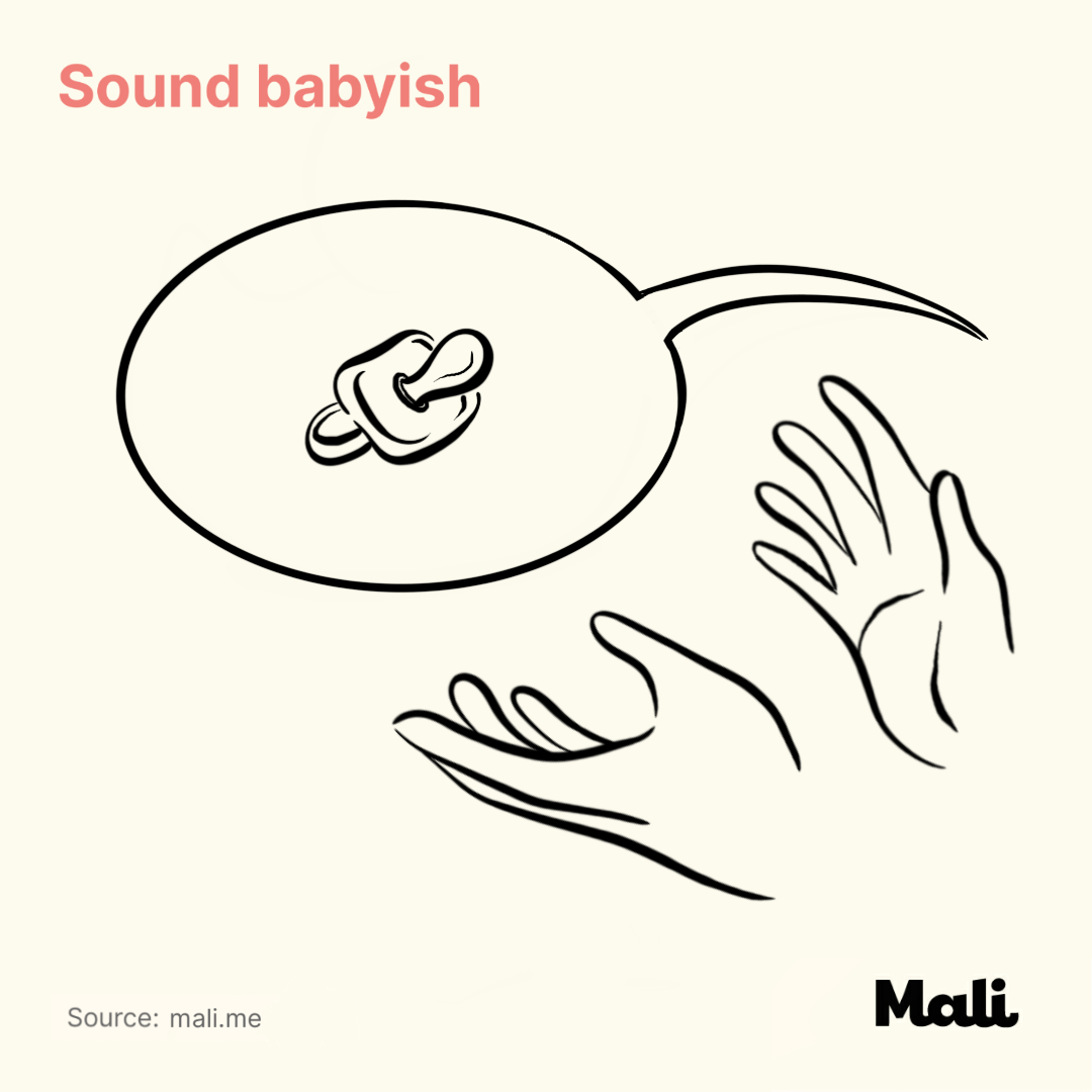 Sound babyish_7 important things to do when talking to a baby by Mali