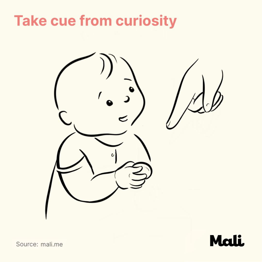 Take cue from curiosity_7 important things to do when talking to a baby by Mali