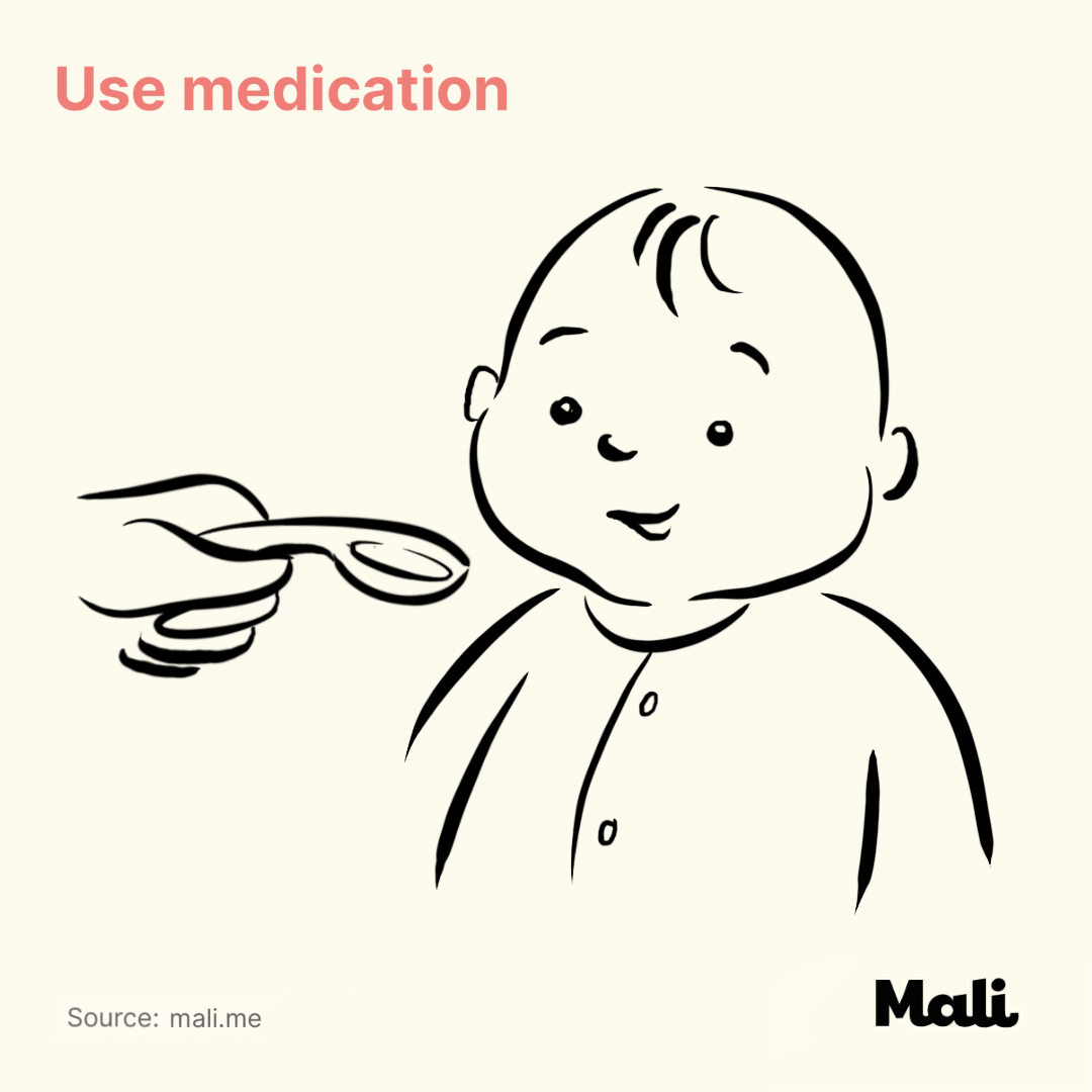 Use medication_5 ways to relieve teething-related pains by Mali