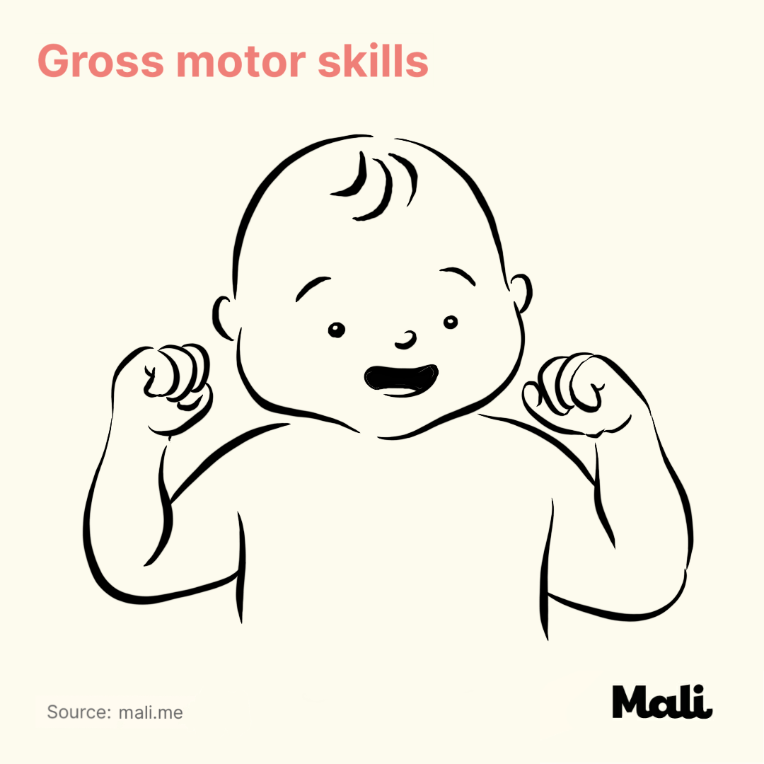 Gross motor skill_The benefits of peek-a-boo and hide and seek by Mali