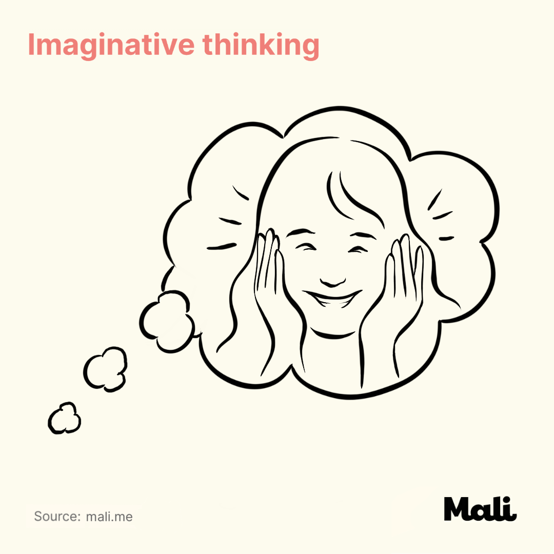 Imaginative thinking_The benefits of peek-a-boo and hide and seek by Mali
