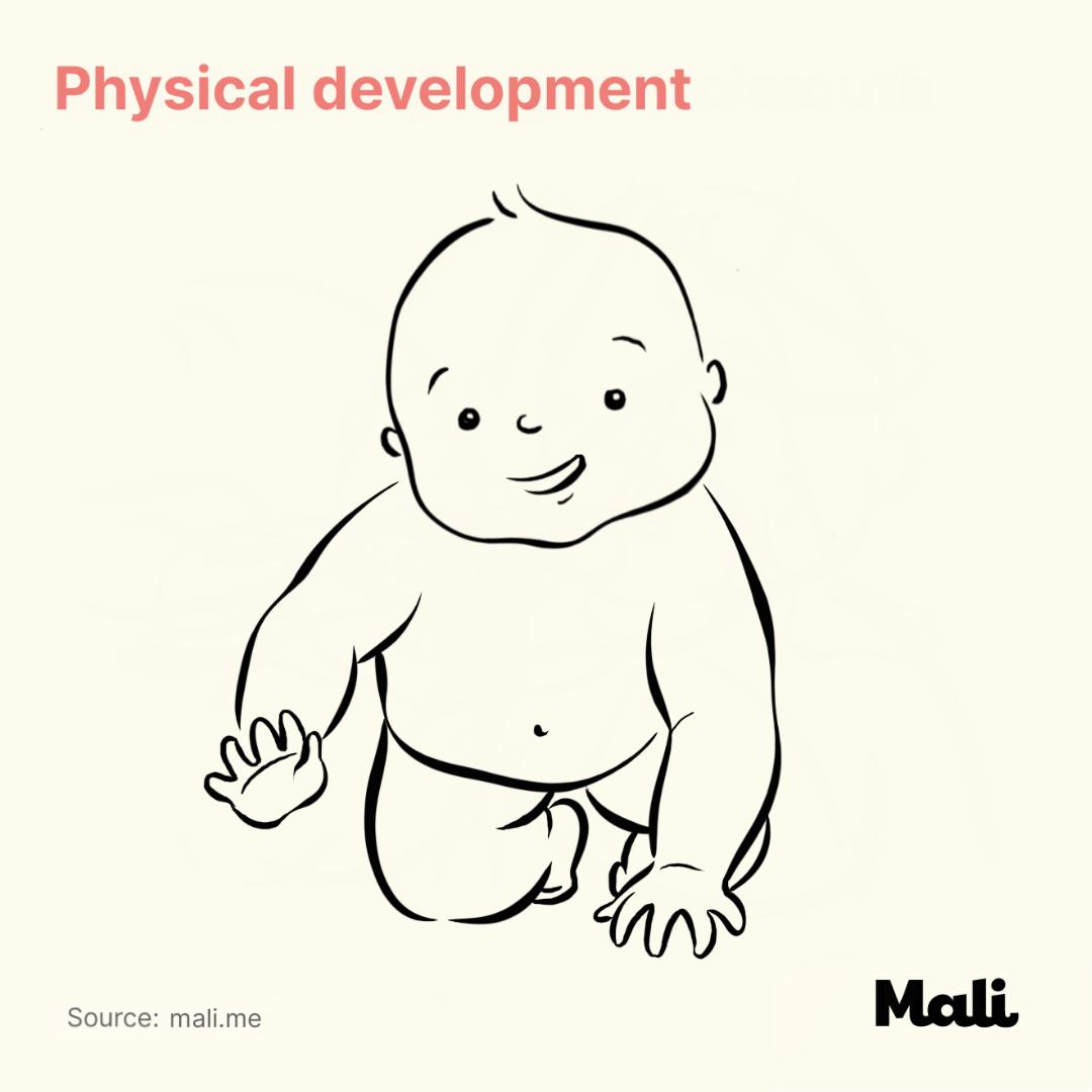 Physical development_12 Important Milestones for children's development by Mali