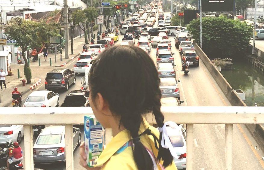 ผลกระทบจากมลพิษทางอากาศต่อสุขภาพของเด็กเล็ก