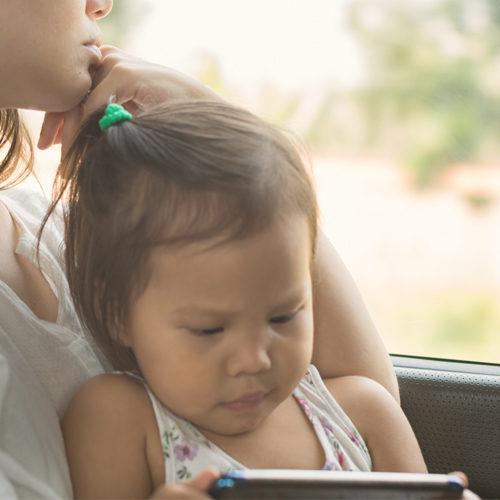 Children on screens often miss important life lesson