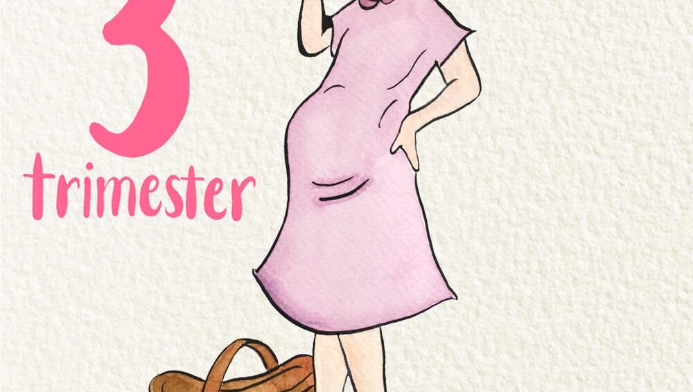 ยินดีต้อนรับสู่ไตรมาสที่ 3 ของการตั้งครรภ์!