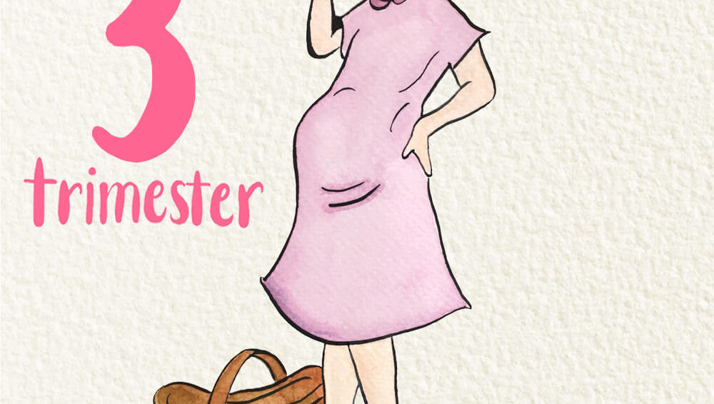 Welcome to the third trimester!