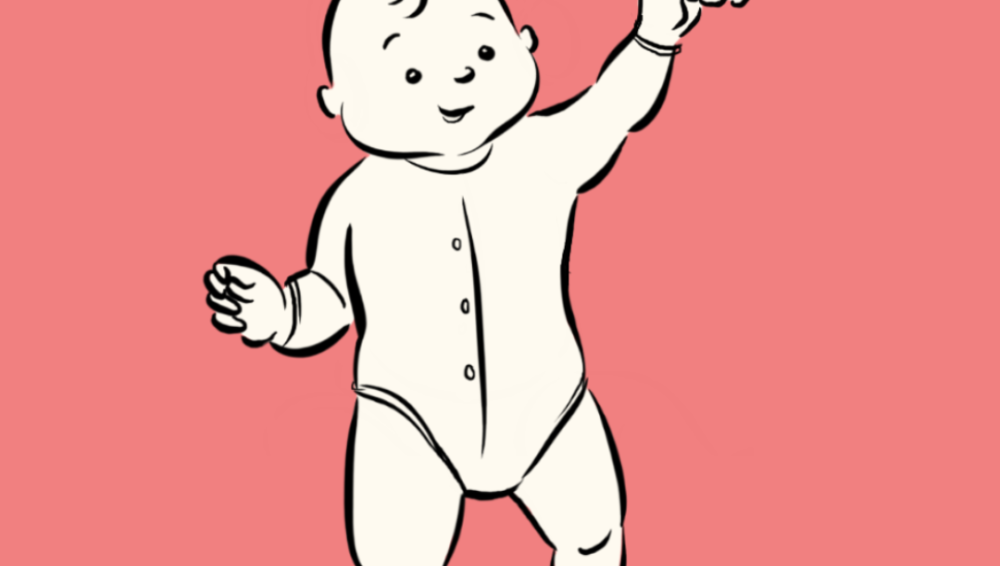 8 stages of baby walking