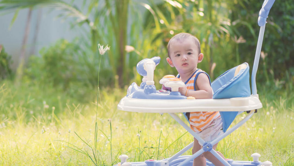 Why baby walkers are bad for a child's development